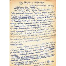 """Dénes Zsófia (1885-1987) író """"Egry Józsefnél a szőlőhegyen"""""""