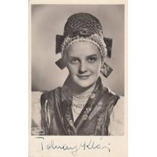 Fekete műterem: Tolnay Klári (1914-1998) színésznő