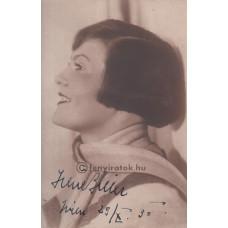 Áldor Dezső: Biller Irén (1897-1971) színésznő, énekesnő