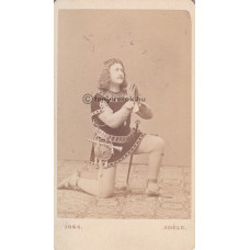 Adéle: Adolf von Sonnenthal (1834-1909) osztrák színész
