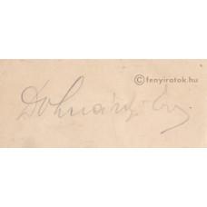 Dohnányi Ernő (1877-1960) zeneszerző, karmester, zongoraművész