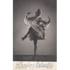 Fekete [műterem]: Ottrubay Melinda (1920-2014) balett táncosnő