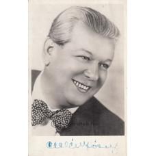 Faragóné: Cselényi József (1899-1949) dalénekes, színész