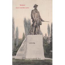 Erdélyi [Mór]: Habsburg Rudolf (1858-1889) koronaherceg szobra Budapesten