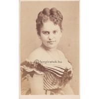 Wendling, F.: Josefine Gallmeyer (1838-1884) osztrák színésznő, operettprimadonna