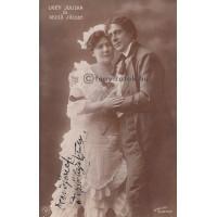Strelisky: Dezsőné Ligeti Juliska (1877-1945) és Dezső József (1867-1915) színészek
