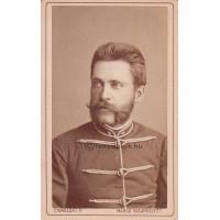 Ciehulski P[éter]: Páljános Károly állomásfőnök, hadnagy