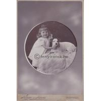 Kluge és Társa: Mintzér Dabdy (1898-1905) kutyájával