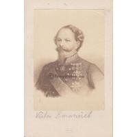 Goupil & Cie.: Savoyai (II.) Viktor Emánuel (1820-1878) olasz király