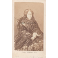 Mayer & Pierson: Eugenia de Montijo (1826-1920) francia császárné