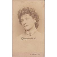 Gondy és Egey: Krecsányi Sarolta (1849-1908) színésznő, énekesnő